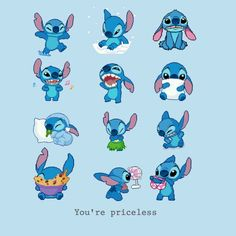 I know technically Stitch isn't an animal, but he's cute anyway. X3