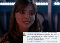 Discussão Doctor X Clara (Kill the Moon)