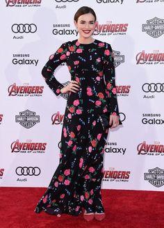 Elizabeth Henstridge Photos: 'Avengers: Age of Ultron' World Premiere