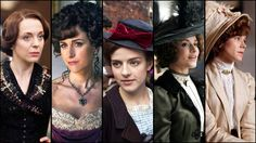 Mr. Selfridge (series 2013 - ) Starring: Amanda Abbington as Josie Mardle, Katherine Kelly as Lady Mae Loxley, Aisling Loftus as Agnes Towler, Zoe Tapper as Ellen Love, and Frances O'Connor as Rose Selfridge.