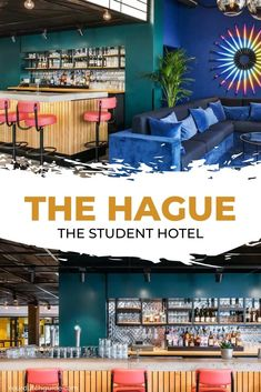 The Student Hotel The Hague. Check out The Student Hotel in The Hague is you'd like to stay somewhere affordable and cool.