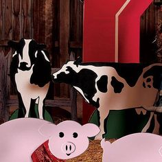 Cow Standees