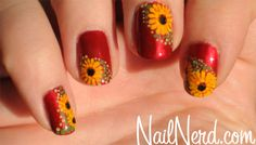 Flowers made from dotting tools -- dots instead of leaves!