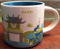 "Hanoi - ""You Are Here"" Starbucks Mug"