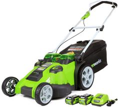 Electric Walk-Behind Lawn Mowers - How to Pick the Best One  http://www.madaboutberries.com/articles/electric-walk-behind-lawn-mowers.html