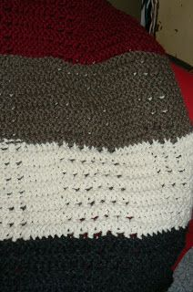 Invisible Loom Innovative Patterns for Loom Knitters: Mr. Woodhouse' Afghan ♥LLK♥ with pattern