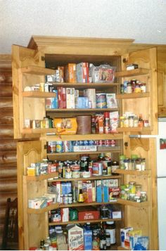 1000 images about kitchen with freestanding pantry on - Freestanding pantry cabinet ideas ...