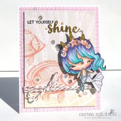 Inky Fairy Designs: Guy Tang Inspired Copic Hair Coloring featuring The Greeting Farm
