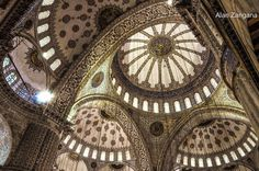 Sultan Ahmed Mosque by Alan Zangana