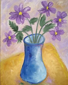 """Happy Spring"", oil on canvas, 60cm X 45cm 🌸 #art #flowers"
