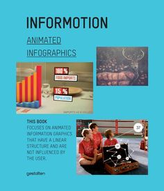 Informotion – Animated Infographics The first reference book on the fundamentals of animated information graphics. Corporate Communication, Effective Communication, Information Design, Information Graphics, This Is A Book, The Book, National Geographic, Animation, Interview