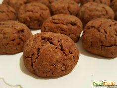 Biscotti con farina di ceci al miele, nesquik, con olio e senza uova  #ricette #food #recipes