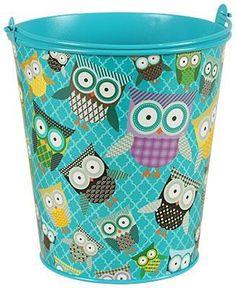 Owls Large Bucket Pinned by www.myowlbarn.com