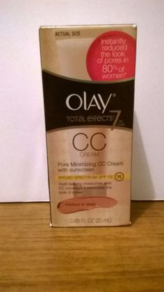 Olay Total Effects 7 in One Pore Minimizing CC Cream Medium to Deep #Olay