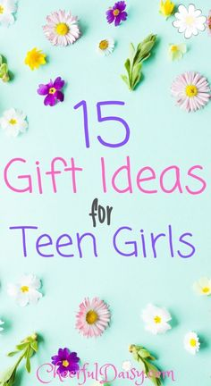 Fun gift ideas for teen girls! These gift ideas would make perfect Easter basket ideas for teen and tween girls! Awesome gift ideas for teen friends or teen sisters! Fun Christmas and birthday gift ideas for teen girls!