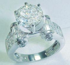 beautiful anniversary diamond ring
