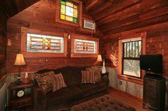 Canyon Lake House interior
