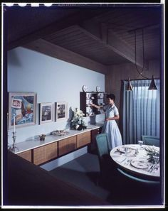 1940's dining room