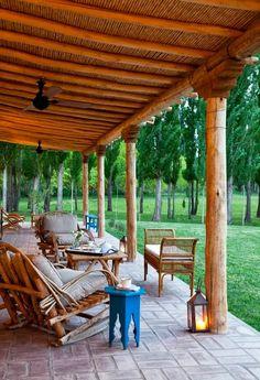Galeria de casa de campo en argentina jardines glorietas picinas pinterest argentina - Porches de casas de campo ...