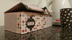 schachtel, tee, geschenk, punkte, rosa, pastell, schenken, Mona vo Hand gmacht, Homemade, Handmade, Papeterie, einzigartig, Mona, Toy Chest, Storage Chest, Furniture, Home Decor, Paper, Paper Mill, Bookmarks, Dots