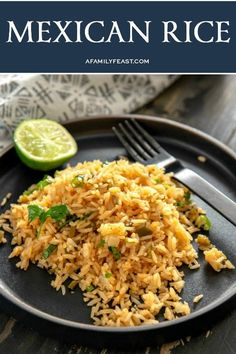 Zesty and delicious, our Mexican Rice is the perfect addition to any Cinco de Mayo menu. Bhg Recipes, Entree Recipes, Rice Recipes, Mexican Food Recipes, Appetizer Recipes, Ethnic Recipes, Icing Recipes, Lentil Recipes, Broccoli Recipes