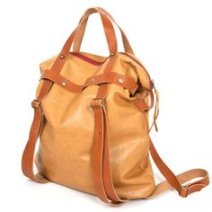 LG A-line Tote Tan, $325, now featured on Fab.