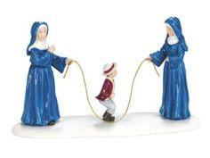 600570 twee nonnen touwtjespringen