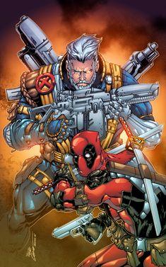 Cable & Deadpool - Alonso Espinoza