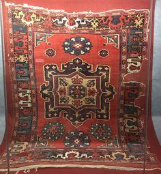 Eastern Anatolian carpet from Turkey.This piece is now located at the Hali Museum in Istanbul,Turkey. Age: circa 1600