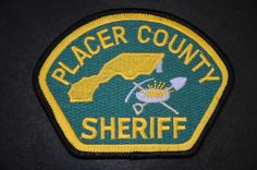 Placer County Sheriff Patch, California (Current Issue)