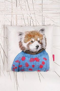 Ohh Deer Howard Cushion - Urban Outfitters
