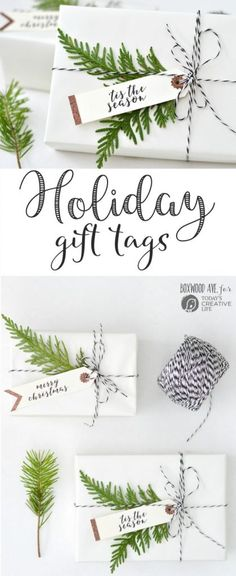DIY Holiday Gift Tag