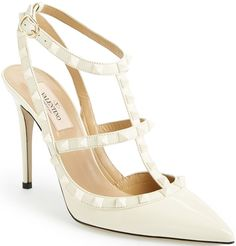 bc6954ca487 Valentino Ivory Punkouture T-Strap Pump  1075.00  shoes  heels - CLICK HERE  for