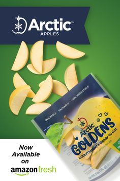 Snack smarter. Now the world's best-tasting apple comes pre-washed, pre-sliced, and ready to snack. Now available on Amazon Fresh in select markets. Apple Varieties, Fresh Apples, Apple Slices, Arctic, Gourmet Recipes, Cantaloupe, Snacks, Fruit, Amazon