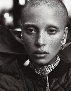 """serum114:  """"Adwoa Aboah in Street Couture  Mikael Jansson for Interview September 2016  """""""