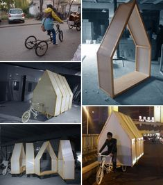 Yi Duo House, a house on wheels Mobile Architecture, Vehicle Signage, Shop Signage, Temporary Structures, Tiny House, Cabins And Cottages, Urban Furniture, House On Wheels, Play Houses
