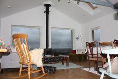 Interior shot of completed cottage restoration & extension - County Mayo Interior, Restoration, Cottage