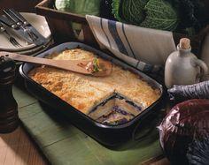 Schichtkohl - Auflauf mit Weißkohl, Rotkohl und Wirsingkohl |  Kalorien: 439 Kcal - Zeit: 1 Std. | http://eatsmarter.de/rezepte/schichtkohl