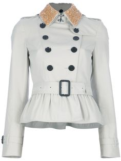 Timeless Coat - Peplum trench