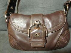 COACH - Authentic Brown Leather Bag