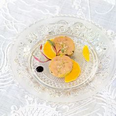 Foie gras à la mandarine