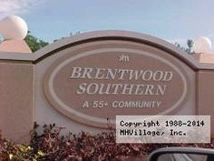 Brentwood Southern Mobile Home Park In Mesa AZ