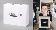 fun stuff with the LUCKETTS brand by: bliss and tell branding company
