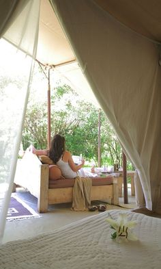 luxury Bush tent accomodation - Africa