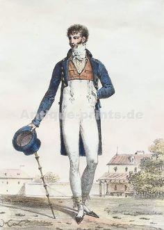 """""""Costume D´Été, 1797""""  by François Séraphin Delpech"""