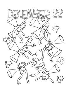 Twelve days of Christmas embroidery