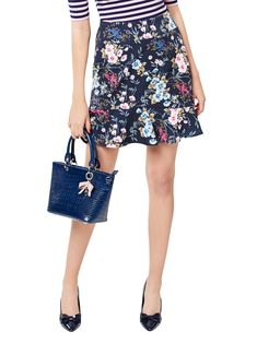 skirts tulip -- Click VISIT link above for more options Fitted Skirt, Midi Skirt, Pastel Pink, Pink Blue, Types Of Skirts, Review Fashion, Floral Fashion, Mix Match, Blue Tops