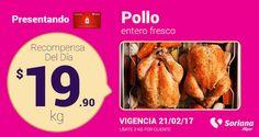 En tiendas Soriana Hiper podrás encontrar las siguientes ofertas decarnes, pescados y huevo para clientes con tarjeta Recompensas. Martes 21 de febrero: p