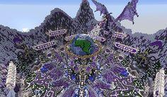 #Minecraft Mega Builds - Arkham network hub