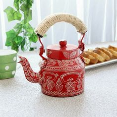 Beautiful kettles can set a happy mood right at the start of the day.